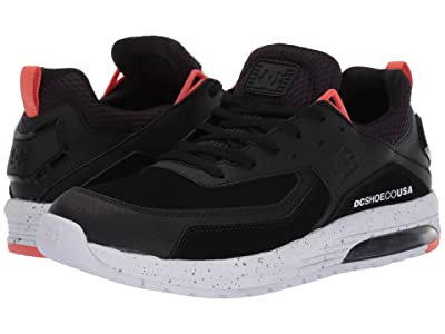 DC Vandium SE (Black/White/Silver) Men