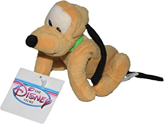 "Disney Mickey Mouse Clubhouse 9"" Pluto Bean Bag Plush Doll"