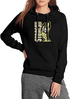 Women Wool Warm Sweatshirts Rolling-Stones-Man- Streetwear Kangaroo Pocket Fleece Pullover Hoodie
