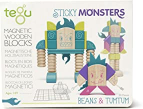 Tegu Beans & Tumtum Magnetic Wooden Block Set