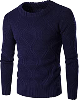Mens t-Bird Sweater Wool Knit Round Neck Long Sleeves Warm Tight Sweaters Knitted HommeClothing