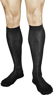 Calcetines 100% Algodón Altos Finos Hombre (2 PARES) Suaves Ligeiros