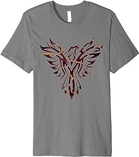 Lava Fire & Flames Phoenix Mythical Bird Rising Born Again