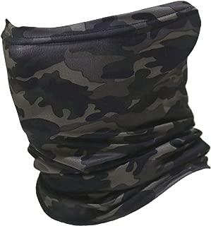 多機能 迷彩 フェイスマスク UVカット ストレッチ チューブ フェイスガード ネックウォーマー 防寒 防風 埃よけ 日よけ フェイスマスク ターバン ニット 帽子 フェイス ヘッド ウェア 速乾 薄手 伸縮素材 AHT-PL-CAMO