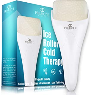 Project E Beauty Ice Roller Cold Therapy | Face Eye Body Massage Massager Under Eye Puffiness Brightening Cooling Cool Tig...