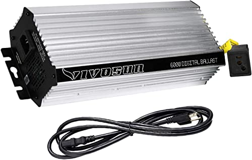 2021 VIVOSUN 600 Watt Dimmable outlet sale Electronic Digital Ballast with Enhanced Internal Cooled Fan, 25% Less Heat lowest Generated and 15% Longer Service Life sale