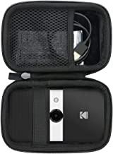 co2CREA Storage Carry Travel Hard Case for KODAK Smile Instant Print Digital Camera  external black interior black