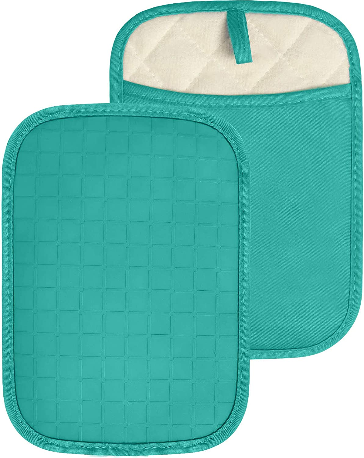 HOMWE New sales Easy-to-use Silicone Kitchen Pot Holders with Pc Set 2 Pockets Trivet