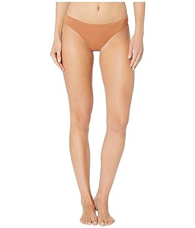 Eberjey Pique Annia Bikini Bottoms (Pecan) Women