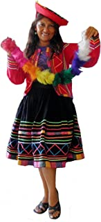 Women's Complete Peruvian Dance Costume