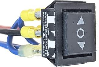 IndusTec Wired 20 AMP 12V - Motor Polarity Reversing Momentary Switch