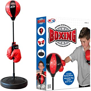 Best NSG Unisex Boxing Set, Black/Red Review