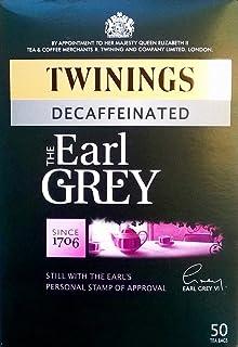 Twinings Earl Grey Decaffeinated 50 Teabags 125G