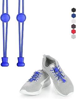 KATELUO cordones zapatillas,Cordones elásticos sin nudos para zapatillas,para Maratón y Triatlón Atletas,Corredores,Niños, Ancianos,Discapacitado