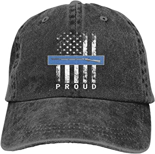 Army Expert Infantry Badge Unisex Washed Retro Proud American Adjustable Baseball Cap Dad Hat