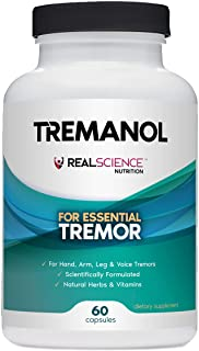 Tremanol – All Natural Essential Tremor Relief Supplement - Provides Long-Term Herbal Relief to Reduce and ...