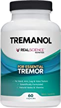 Tremanol – All Natural Essential Tremor Supplement - Provides Long-Term Herbal Relief to Reduce and Soothe Shaky Hands, Arm, Leg, & Voice Tremors Plus Includes Bonus ET Recipes E-book