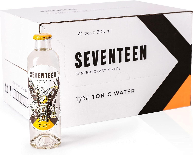 Seventeen Contemporary Mixers Seventeen - 1724 Tonic Water, 24 botellas de 200ml