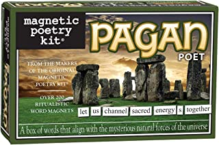 Magnetic Poetry Pagan Kit – Pagan Words for Refrigerator - Write Poems and Letters on The Fridge - Made in The USA 6023940...