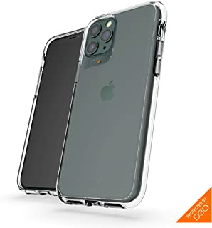 GEAR4 Crystal Palace Compatible with iPhone 11 Pro Case, Advanced Impact Protection with Integrated D3O Technology, Anti-Yellowing, Phone Cover – Transparent