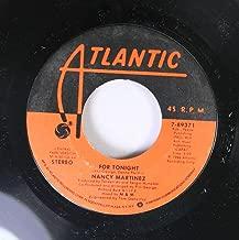 Nancy Martinez 45 RPM For Tonight / For Tonight