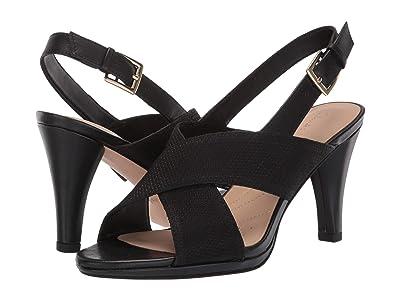 Clarks Dalia Lotus (Black Combi) High Heels