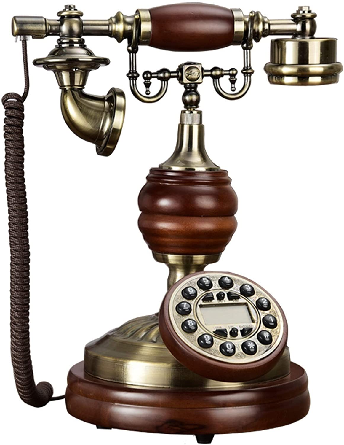 Outlet sale feature Limited time for free shipping ZHENGYU Vintage Decorate European Telephone L Type Retro