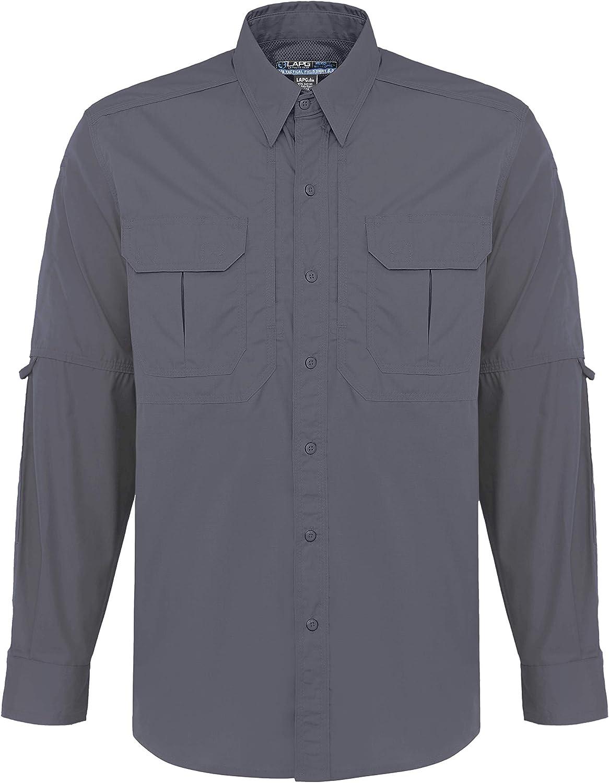 LA Police Gear Long Sleeve Lightweight Cotton//Poly Tactical Field Shirt 2.0