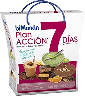 Pack dieta 1 semana Bimanán PRO