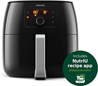Philips Avance Collection 2200W 1.4 kg Air Fryer, with Fat Removal Technology for Healthy Cooking/Baking/Grilling, XXL, HD...
