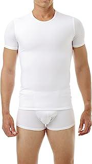 3525e2be175ab Underworks Mens Extreme Gynecomastia Chest Binder Girdle T-Shirt