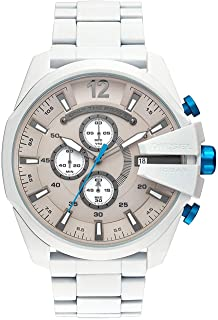 Watch Diesel Men's Mega Chief Watch Quartz Mineral Crystal DZ4502 DZ4502