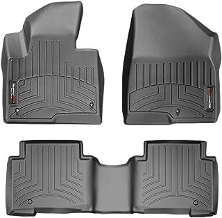 WeatherTech Custom Fit FloorLiner for Santa Fe/Santa Fe XL - 1st & 2nd Row (Black)