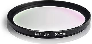 Ares Foto® MC UV-filter, slank beschermingsfilter met meerlaagse coating voor Canon Sony Nikon Leica Fujifilm Panasonic Pe...