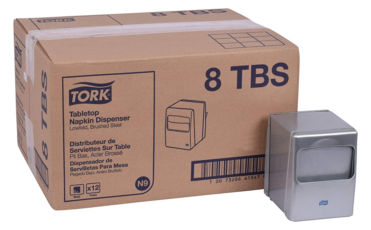 Tork 8TBS Lowfold Tabletop Napkin Dispenser, 5.5