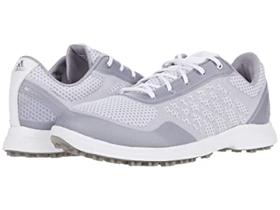 adidas Golf Alphaflex Sport (White/Glory Grey/Silver Metallic) Women