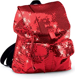 Urban Groove Sequin Dance Bag Cheer Gymnastics Pageant Travel Backpack Red ONE SIZE