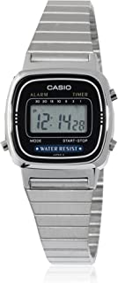 Casio Casual Watch Digital Display Quartz for Women LA670WA-1DF