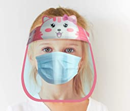 Kids Face Shield Anti Fog & Clear lenses - SHIELDme [Girls]