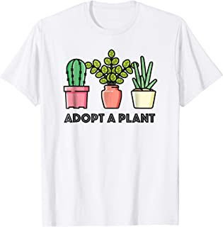 Adopt a Plant with Succulents T-Shirt
