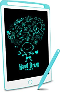 Big side Richgv LCD Writing Tablet, 10 Inch bright colorful Electronic Drawing Board Graphic Tablets with Memory Lock, Han...