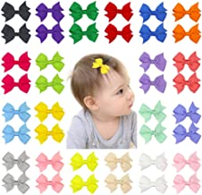 "Beinou Mini 2"" Hair Bows Alligator Clips Tiny Hair Clips Barrettes for Baby Girls.."