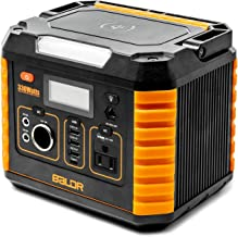 BALDR Portable Power Station 330W, Portable Solar Generators for home use, Emergency Lithium Battery with QC3.0 & Type C, ...