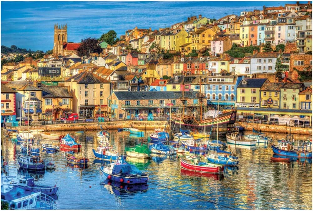 CHENZA Landscape Jigsaw Puzzles Free shipping / New 2000 Pieces for Adults Manufacturer regenerated product Portable