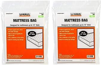 UHaul Mattress Bag Protector Full Size 87 x 54 x 10 2 Pack Moving & Storage