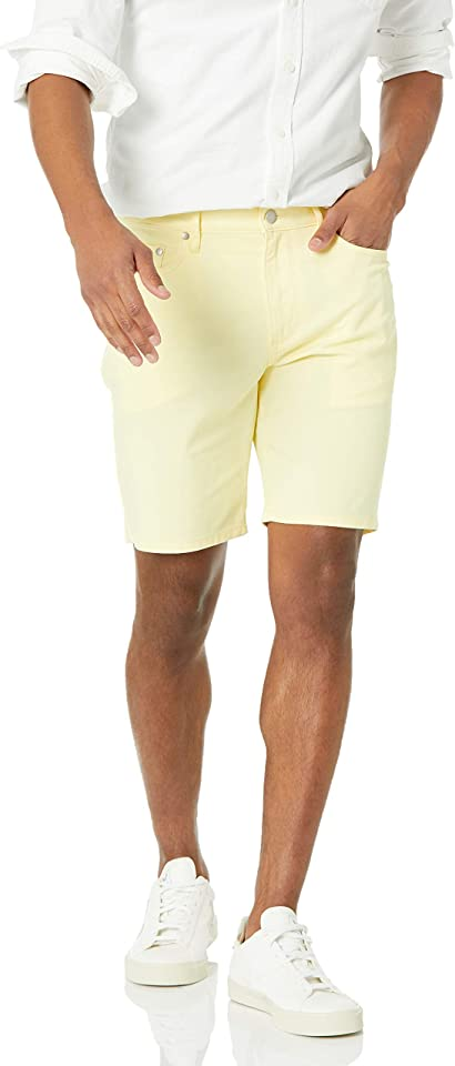 Amazon Essentials Men's Slim-fit 9 Inseam Stretch 5-Pocket Short