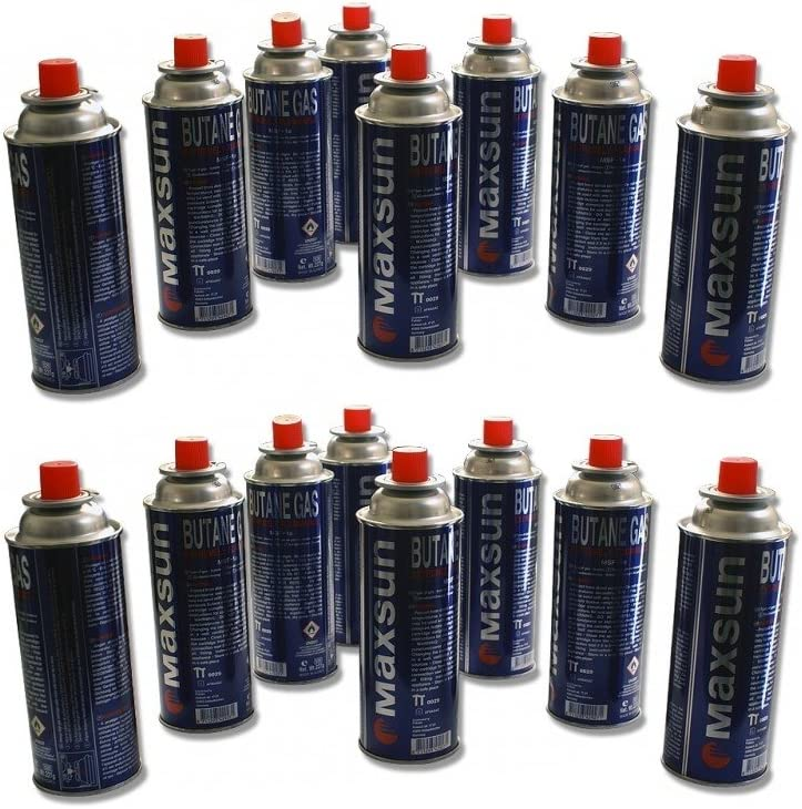 28 unidades de cartuchos de gas de 227 ml para camping gas, cartucho, botella para camping gas, cocina de gas