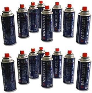 comprar comparacion 28 unidades de cartuchos de gas de 227 ml para camping gas, cartucho, botella para camping gas, cocina de gas