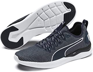 Puma Ignite Flash Fs Men'S Outdoor Multisport Training Shoes, Peacoat-Glacier Gray-Puma White, 9.5 US