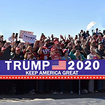 Donald Trump 2020 String Flag Banner for Party Decor Parades 25 Flags Hot Sale